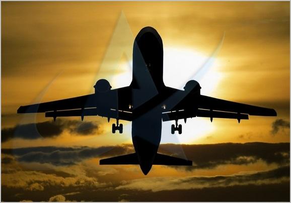 الشحن الجوي المطار